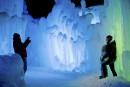 Les Ice Castles proposent de Lincoln sont composés de 64... | 24 février 2015