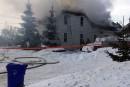 Un immeuble à logements détruit à St-Denis