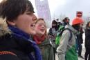 Deux marches étudiantes simultanées