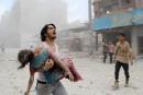Les barils de la mort pleuvent sur la Syrie