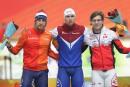 Dubreuil en bonne position au Mondial sprint