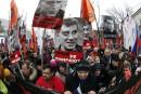 Meurtre de Nemtsov: des milliers de personnes marchent à Moscou
