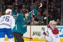 Les Sharks servent une leçon de hockey au Canadien