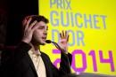 Le prix Guichet d'or remis à Xavier Dolan pour <em>Mommy</em>