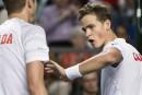 Coupe Davis: victoire du Canada en double