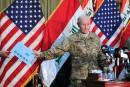 Le chef de l'armée américaine à Bagdad en pleine offensive anti-EI