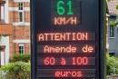 Des radars «pédagogiques» bientôt le long des routes