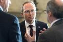 «La prospérité donnera aux Québécois les moyens de leurs ambitions», dit Coiteux