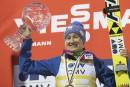 Saut à skis: le globe pour Iraschko-Stolz