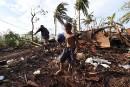 Cyclone <em>Pam</em>: le président du Vanuatu appelle le monde à l'aide
