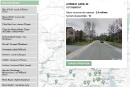 Carte des rues les plus chères sur l'île de Montréal