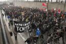 Des milliers de personnes manifestent contre l'austérité