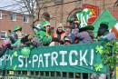 Défilé de la St-Patrick:«Au moins il y a du soleil»