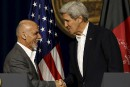 Ghani et Kerry évoquent l'amitié «durable» entre Kaboul et Washington