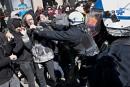 Le conflit étudiant actuel plus violent qu'en 2012, prétend le SPVM