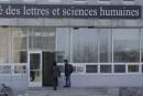 Des oeufs lancés à la faculté des Lettres et sciences humaines