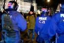 La police de Québec a surpris les manifestants