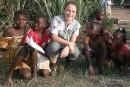 Une mère de jeunes enfants en mission au berceau de l'Ebola