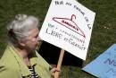 Accès à l'avortement: un rassemblement s'est rapidement organisé