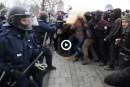 Manifestante blessée: Labeaume prudent