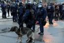 Manifestante blessée: la police dit avoir suivi des protocoles précis