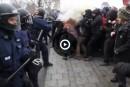 Manifestante blessée: des images«dramatiques et détestables», dit Labeaume