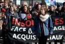 Manifestation à Québec: Naomie Tremblay-Trudeau ouvre la marche
