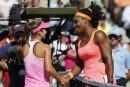 Serena Williams corrige la jeune CiCi Bellis à Miami