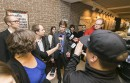 Grève de l'AGEFLESH: point de presse tendu au palais de justice