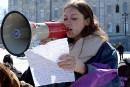 Étudiante blessée au visage: la Ville de Québec mise en demeure