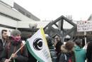 Quelque 80 étudiants de l'UQTR prennent part à la manifestation