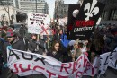 Imposante manifestation au centre-ville de Montréal