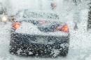 Les pneus d'hiver toujours de mise dans Charlevoix et Saguenay