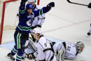 Les Canucks battent les Kings en fusillade