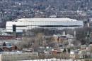 Visite de l'amphithéâtre pendant Expo Québec: Labeaume dit non