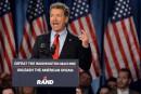 Rand Paul, républicain américain tendance libertaire