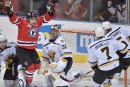 Les Remparts éliminent les Screaming Eagles