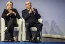 «Rupture politique définitive» entre Marine et Jean-Marie Le Pen