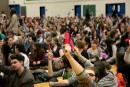 Grève: les étudiants du Cégep optent pour un référendum
