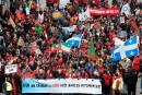 Des milliers de manifestants à Québec pour la marche Action Climat