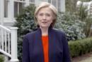 Hillary Clinton, la «championne» du peuple