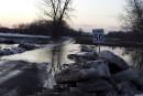 Le niveau d'eau des rivières sous surveillance