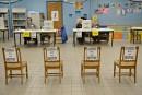 Élection scolaire partielle: faible taux de vote par anticipation
