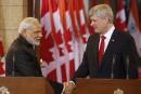 L'Inde et le Canada scellent un important contrat nucléaire