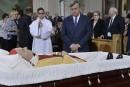 Célébration des funérailles du cardinal Turcotte
