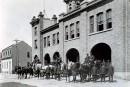 La caserne de la rue des Oblatsen 1924