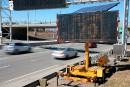 Limites de vitesse variables: des panneaux permanents à 1 million $