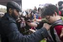 Le Canadien a reçu un accueil digne de rock stars à Mont-Tremblant