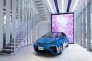 Toyota: une salle d'exposition vouée à la voiture à hydrogène