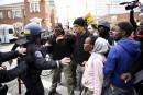 Des violences éclatent lors d'une manifestation à Baltimore